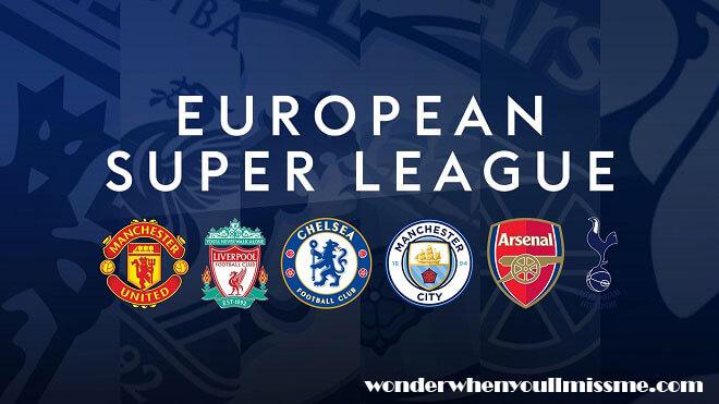 Super League ยูฟ่าที่ควบคุมดูแลฟุตบอลยุโรปกล่าวว่าสโมสรและผู้เล่นที่เข้าร่วมการแข่งขันซูเปอร์ลีกที่แยกตัวออกมาอาจถูกแบนจากการแข่ง